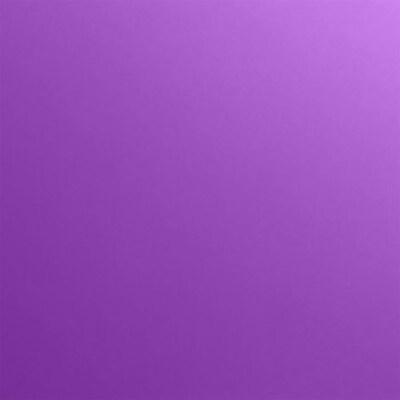LUX 7 3/4 x 7 3/4 Square Flat Card 500/Pack, Purple Power (734SQFLTFA06500)
