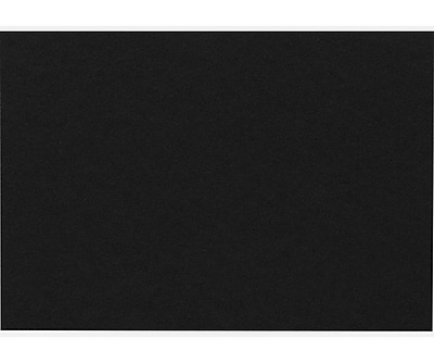 LUX A9 Flat Card (5 1/2 x 8 1/2) 500/Pack, Midnight Black (EX4060-56-500)