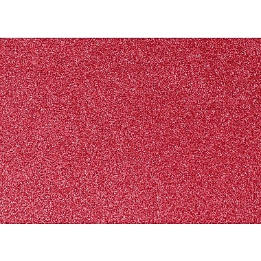 LUX A7 Flat Card, Holiday Red Sparkle (4040-MS08-250)