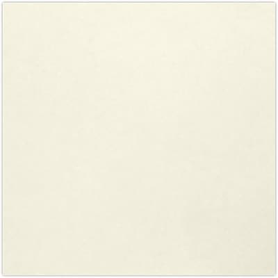 LUX 6 3/4 x 4 3/4 Square Flat Card 1000/Pack, Natural - 100% Recycled (634SQFLTNPC1000)