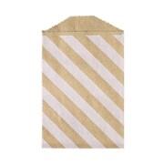 LUX Little Bitty Bag (2 3/4 x 4)  50/Pack, Diagonal Stripe Grocery Bag (LBB-DSGB-50)