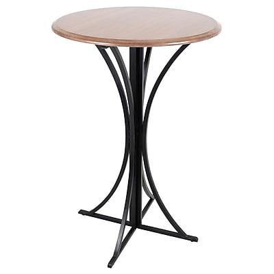 Lumisource Boor Bar Table in Walnut and Black (BT-BORO WL+BK)