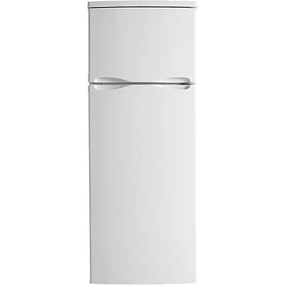 Danby Designer 7.3 Cu. Ft. Refrigerator with Top-Mount Freezer in White