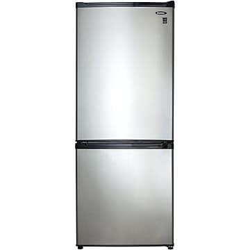 Danby 9.2 Cu. Ft. Refrigerator w/Freezer, Black/Stainless (DFF092C1BSLDB)
