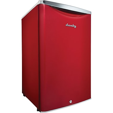 Danby Contemporary Classic 4.4 Cu. Ft. Compact All Refrigerator in Scarlet Red Metallic