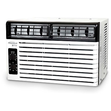 SoleusAir 5,400 BTU 115V Window-Mounted Air Conditioner with Mechanical Controls
