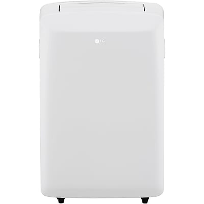 LG 8,000 BTU 115V Portable Air Conditioner with Remote Control in White