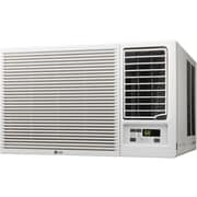 LG 18,000 BTU 230V Window-Mounted Air Conditioner with 12,000 BTU Supplemental Heat Function