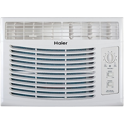 Haier 5,000 BTU Window-Mounted Air Conditioner with Mechanical Controls 23983017