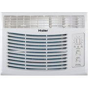 Haier 5,000 BTU Window-Mounted Air Conditioner with Mechanical Controls