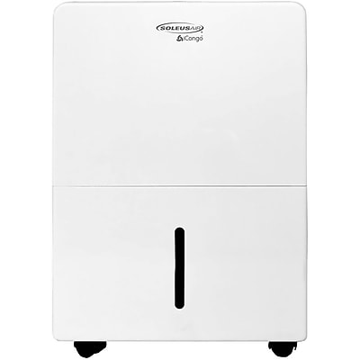 SoleusAir 30-Pint Portable Dehumidifier in White 23983023