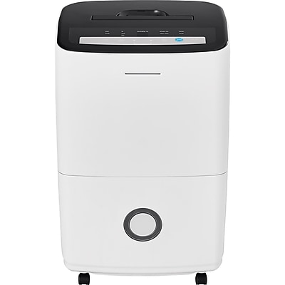 Frigidaire 70-Pint Dehumidifier with Built-in Pump in White 23983108