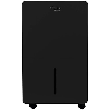 SoleusAir 70-Pint Portable Dehumidifier with Internal Pump in Black