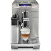 DeLonghi PrimaDonna S Deluxe Automatic Beverage Machine in Stainless Steel