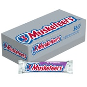 3 Musketeers Chocolate Candy Bars, 1.92 oz, Pack of 36 (MMM42208)