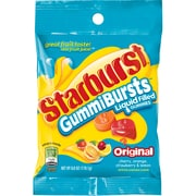 Starburst Original GummiBurst Candy Bag, 6 oz, 12 bags. (MMM16264)