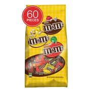 M&M'S Chocolate Fun Size Candy Variety Bag, 32.09 oz, 60 Piece (MMM51793)
