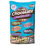 Mars Chocolate Favorites Assorted Bulk Packs, Variety, 40 oz., 2/Bundle (MMM20319)
