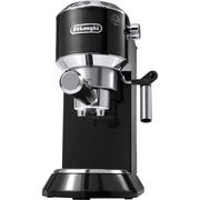 DeLonghi Dedica 15-Bar Pump Espresso Machine with Cappuccino System in Black