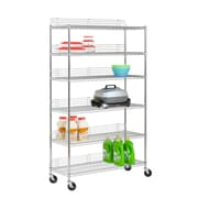 Honey Can Do urban shelving unit, chrome ( SHF-01450 )