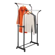 Honey Can Do flared adjustable height garment rack, chrome ( GAR-01119 )