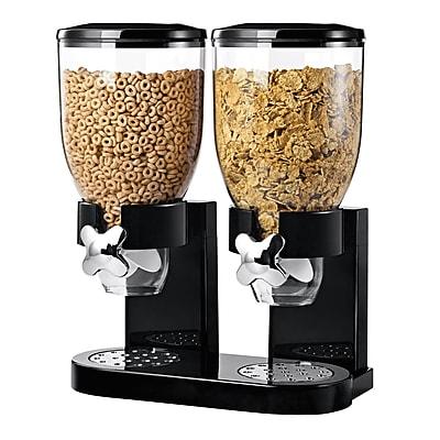 Honey Can Do Original Double Dispenser, black/chrome ( KCH-06121 )