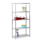 Honey Can Do 5 tier shelving, chrome ( SHF-01443 )