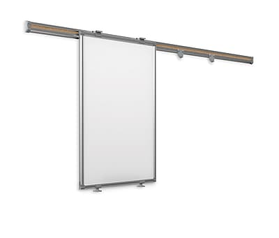 Best-Rite Whiteboard Track System 6 Foot Track With Sliding Panel (62850)