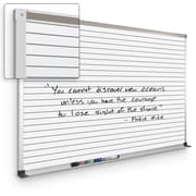 Best-Rite Horizontal Line Board 4' x 8'  Mobile Dry Erase Whiteboard (202AH-S3)