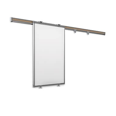Best-Rite Whiteboard Track System 8 Foot Track With Sliding Panel (62852)