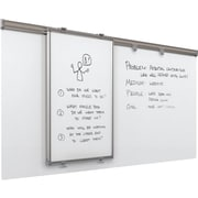 Best-Rite Whiteboard Track System 6 Foot Track With Sliding Panel & Base Panel (62851)