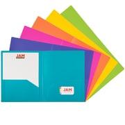 Staples® Poly 2-Pocket Folders, Black | Staples