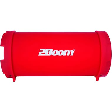 2boom Bx320r The Bass King Jr. Bluetooth Speaker System (red)