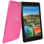 """Refurbished Envizen 10.1"""" Tablet 32GB Android 4.4 KitKat Pink"""