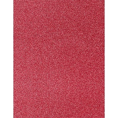 LUX 8 1/2 x 11 Paper 500/Pack, Holiday Red Sparkle (81211-P-MS08500)