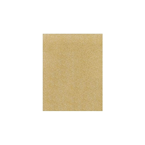LUX 11 x 17 Paper 500/Pack, Gold Sparkle (1117-P-MS02-500)