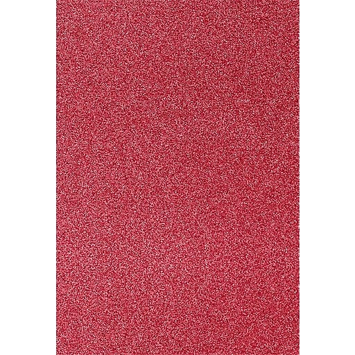 LUX 13 x 19 Paper 250/Pack, Holiday Red Sparkle (1319-P-MS08-250)