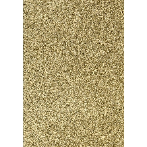 LUX 13 x 19 Paper 50/Pack, Gold Sparkle (1319-P-MS02-50)