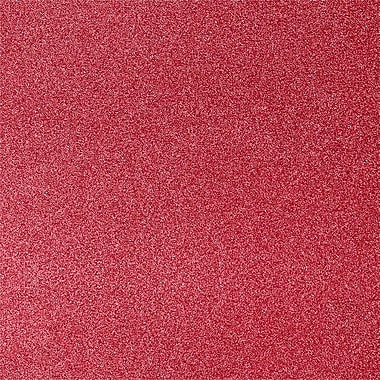 LUX 12 x 12 Paper 1000/Pack, Holiday Red Sparkle (1212-P-MS081000)