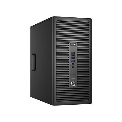 Refurbished HP 600 G2 Intel Core i5-6500 256GB SSD 16GB Microsoft Windows 10 Professional Micro Tower