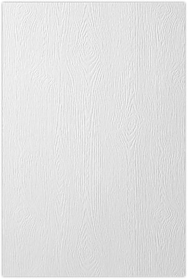 LUX 12 x 18 Cardstock 1000/Pack, White Birch Woodgrain (1218-C-S02-1000)