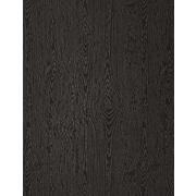 LUX 8 1/2 x 11 Cardstock 50/Pack, Brasilia Black Woodgrain (81211-C-S04-50)