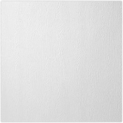 LUX 12 x 12 Cardstock 250/Pack, White Birch Woodgrain (1212-C-S02-250)