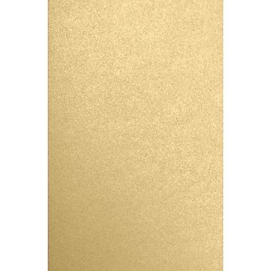 LUX 11 x 17 Cardstock 500/Pack, Blonde Metallic (1117-C-BLON-500)