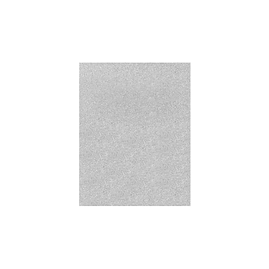 LUX 11 x 17 Cardstock 250/Pack, Silver Sparkle (1117-C-MS01-250)