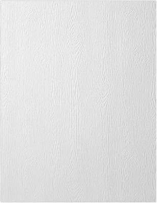 LUX 8 1/2 x 14 Cardstock 1000/Pack, White Birch Woodgrain (81214-C-S021000)
