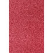 LUX 12 x 18 Cardstock 500/Pack, Holiday Red Sparkle (1218-C-MS08-500)