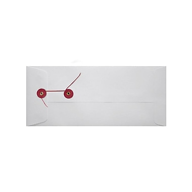 LUX Button and String #10 Envelopes, 28lb., 4.13