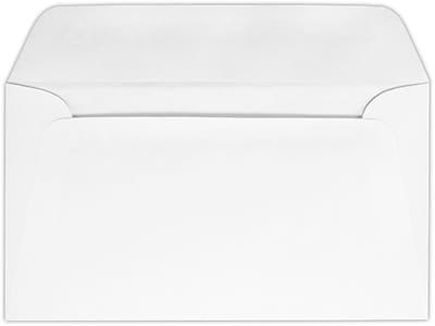 LUX #6 3/4 Regular Envelopes (3 5/8 x 6 1/2) 50/Pack, 24lb. Bright White w/ Press-Stik (634W-PS-50)