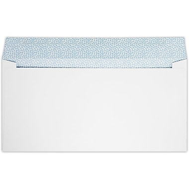 LUX #16 Regular Envelopes (6 x 12) 50/Pack, 28lb. Bright White W/ Sec Tint (15R-W-50)